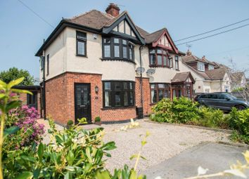 Thumbnail 3 bed semi-detached house for sale in Goodwood Avenue, Hutton, Shenfield