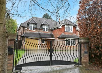 Thumbnail 5 bed detached house to rent in Goodyers Avenue, Radlett