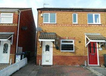 Thumbnail 2 bedroom end terrace house for sale in Sarah Close, Bilston