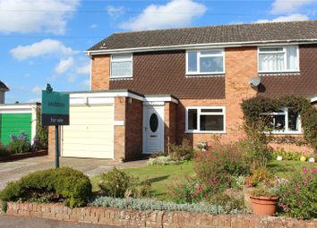 Thumbnail 3 bed semi-detached house for sale in Court Drive, Cullompton, Devon