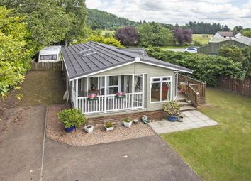 Thumbnail 2 bed lodge for sale in Laurel, Comrie Holiday Park, Comrie