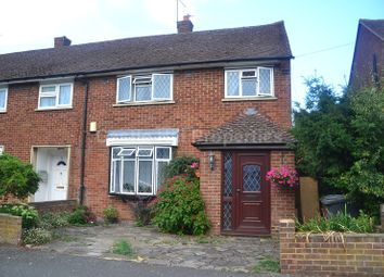 Thumbnail 3 bed end terrace house for sale in Churchill Road, Slough, Berkshire.