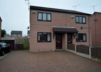 Thumbnail 2 bed semi-detached house for sale in Cherry Tree Grove, North Wingfield, Chesterfield