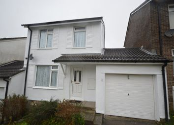 Thumbnail 3 bed link-detached house for sale in Maddock Close, Plympton, Plymouth, Devon