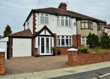 Thumbnail 4 bed semi-detached house for sale in Brendale Avenue, Maghull, Liverpool
