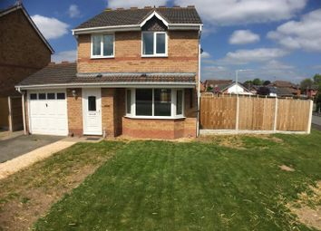 Thumbnail 3 bedroom detached house to rent in Meadow Way, Gobowen, Oswestry