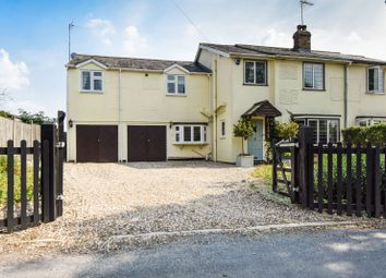 Allens Green, Sawbridgeworth, Hertfordshire CM21. 4 bed semi-detached house