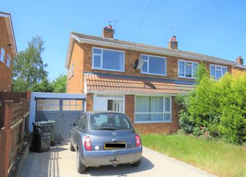Thumbnail 3 bed semi-detached house to rent in Thirlmere Drive, Loughborough