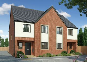 Thumbnail 4 bed semi-detached house for sale in The Mallards, Hampton, Peterborough