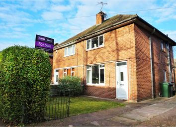 Thumbnail 2 bed semi-detached house for sale in Almond Road, Cantley, Doncaster