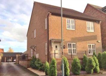 Thumbnail 2 bedroom maisonette to rent in Garwood Crescent, Grange Farm, Milton Keynes