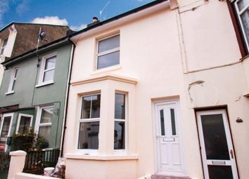 Thumbnail 2 bedroom terraced house to rent in Manor Road, Hastings