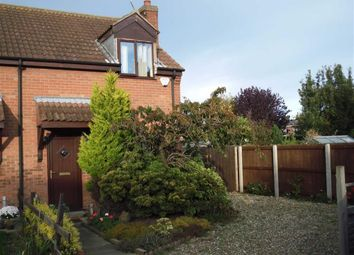 Thumbnail 2 bed end terrace house to rent in Reedsway, Brandesburton, East Yorkshire