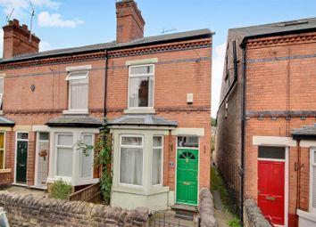 Thumbnail 3 bed end terrace house for sale in Crossman Street, Sherwood, Nottingham