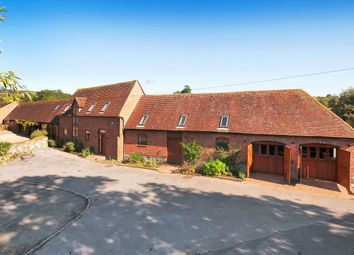 Thumbnail 5 bed barn conversion for sale in Snodland Road, Birling, West Malling