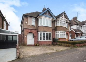 Thumbnail 3 bed semi-detached house for sale in Cutenhoe Road, Luton, Bedfordshire