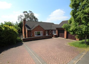 Thumbnail 3 bed detached bungalow for sale in Derwent Road, Burton-On-Trent