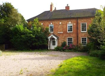 Thumbnail 8 bed detached house for sale in The Old Vicarage, Dove Lane, Rocester, Uttoxeter, Staffordshire