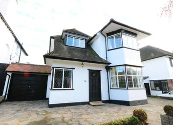 Thumbnail 4 bed detached house for sale in Meadway, Westcliff-On-Sea