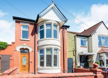 Thumbnail 3 bed detached house for sale in Hall Avenue, South Shore, Blackpool, Lancashire