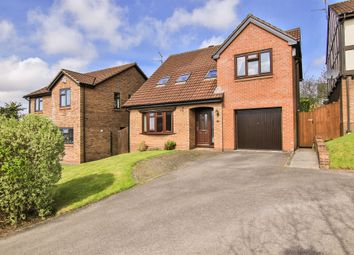 Thumbnail 4 bed detached house for sale in Clos Y Draenog, Thornhill, Cardiff