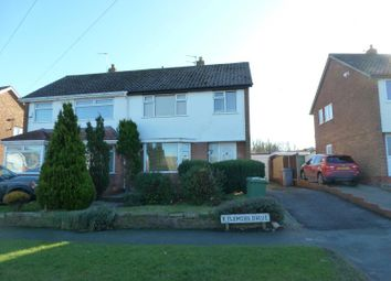 Thumbnail 3 bed semi-detached house to rent in Kylemore Drive, Heswall, Wirral