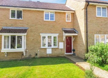 Thumbnail 3 bed terraced house for sale in Alder Close, Eaton Ford, St. Neots