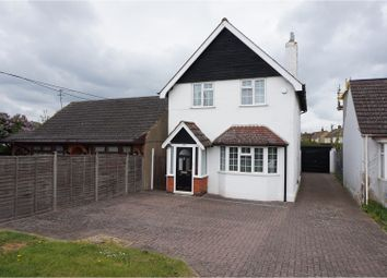 Thumbnail 3 bed detached house for sale in Wollaston Road, Irchester, Wellingborough