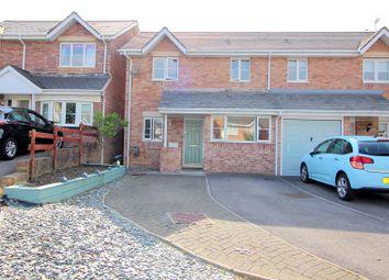 Thumbnail 3 bed semi-detached house for sale in Llys Pentre, Broadlands, Bridgend.