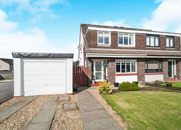 Thumbnail 3 bed semi-detached house for sale in Redburn Court, Whitelees, Cumbernauld