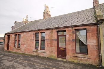 Thumbnail 2 bed cottage to rent in Elliot Place, Arbroath