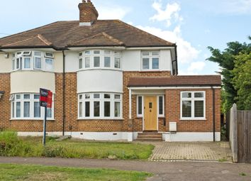 Thumbnail 3 bed semi-detached house for sale in Greenfield Avenue, Berrylands, Surbiton