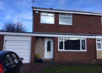 Thumbnail 3 bed semi-detached house for sale in Harthope, Ellington, Morpeth
