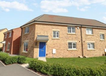 Thumbnail 3 bed semi-detached house for sale in Mayfly Road, Pineham, Northampton, Northamptonshire