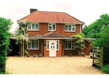 Thumbnail 4 bedroom detached house for sale in Sherborne St John, Basingstoke