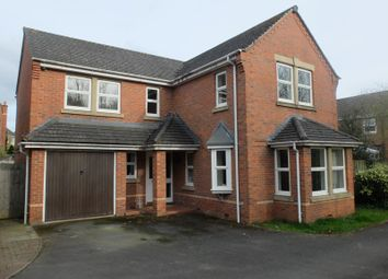 Thumbnail 4 bed detached house for sale in 5 Wye View, Ledbury, Herefordshire