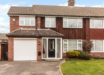 Thumbnail 4 bed semi-detached house for sale in Swallow Dale, Kingswood, Essex