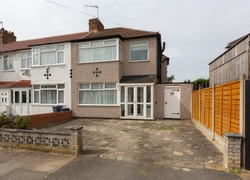 Thumbnail 3 bed end terrace house for sale in Dellwood Gardens, Clayhall, Ilford