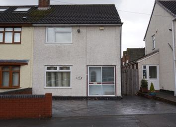 Thumbnail 2 bedroom semi-detached house to rent in Winchester Road, West Bromwich