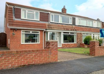 Thumbnail 4 bed semi-detached house for sale in College View, Consett
