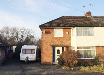 Thumbnail 3 bedroom semi-detached house for sale in Langdale Road, Woodley, Stockport