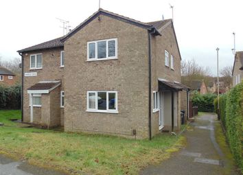 Thumbnail 1 bed semi-detached house to rent in Sharpley Drive, Leicester