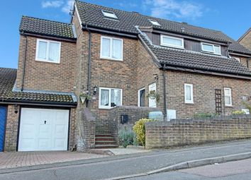 Thumbnail 5 bedroom semi-detached house for sale in Lapwing Rise, Stevenage