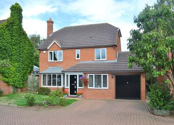 Thumbnail 4 bed detached house for sale in Manor Rise, Lichfield