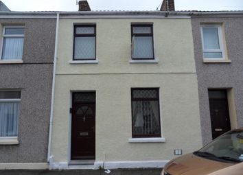 Thumbnail 3 bed property to rent in Glanmor Terrace, Llanelli