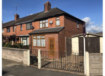 Thumbnail 3 bed end terrace house for sale in Clyde Road, Burslem, Stoke-On-Trent