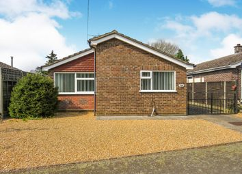 Thumbnail 2 bed detached bungalow for sale in Highfields Drive, Lakenheath, Brandon