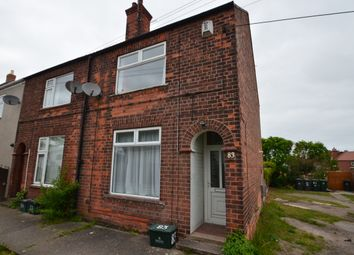 Thumbnail 2 bed end terrace house to rent in Station Road, Bawtry, Doncaster