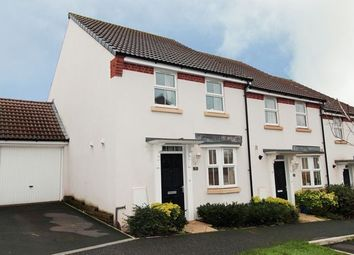 Thumbnail 3 bed semi-detached house for sale in Cambridge Way, Cullompton