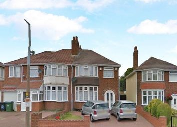 Thumbnail 3 bedroom semi-detached house for sale in Queens Drive, Rowley Regis, West Midlands